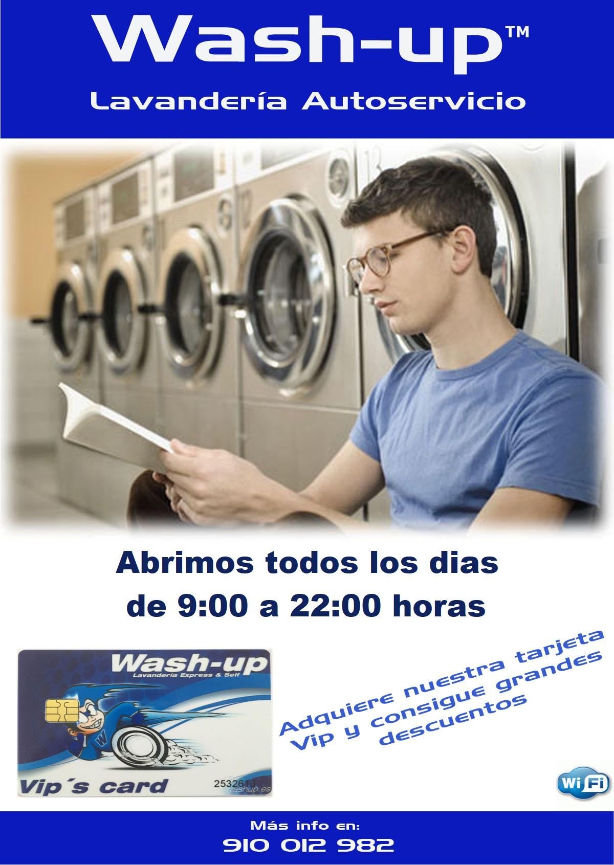 lavandería en navalcarnero