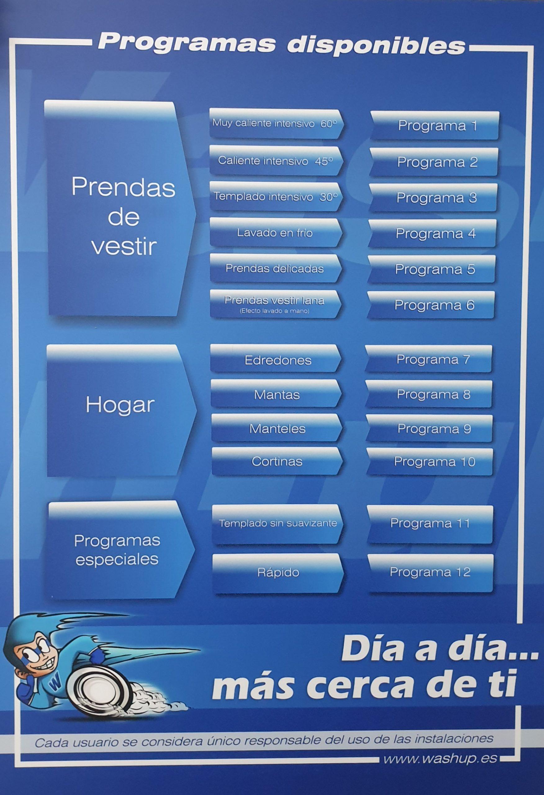 programas lavado